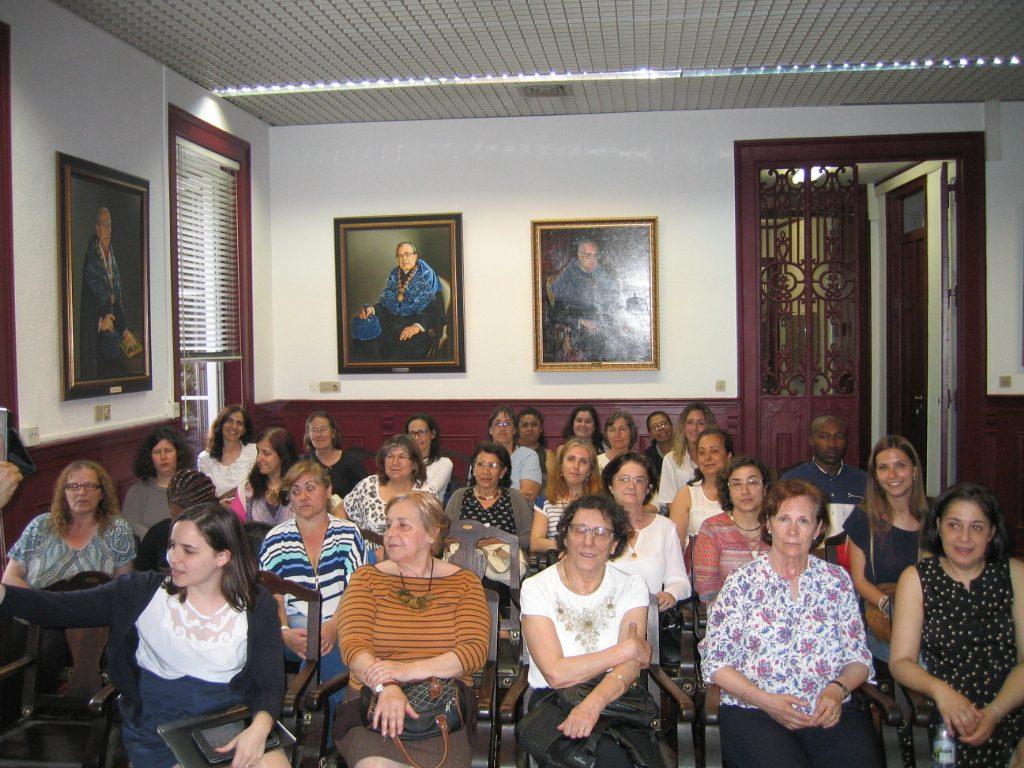 Colaboradores e Amigos do SDL, na sessão de lançamento da Página